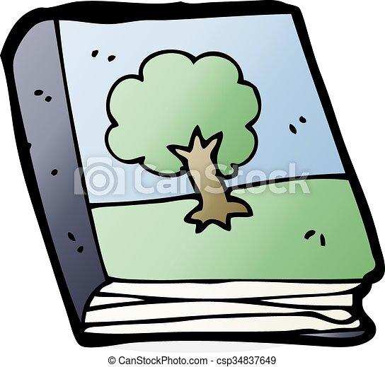 Cartoon-Fotobuch - csp34837649