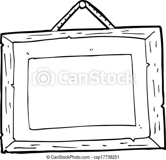 Kartoon-Bildrahmen - csp17738251