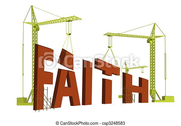 bilding faith - csp3248583