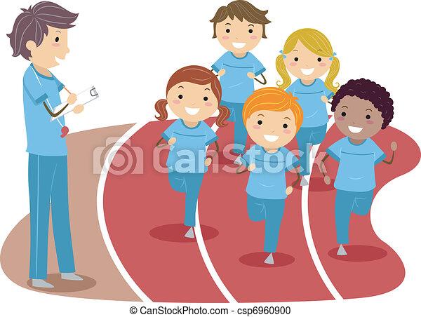 Körperliche Bildung - csp6960900