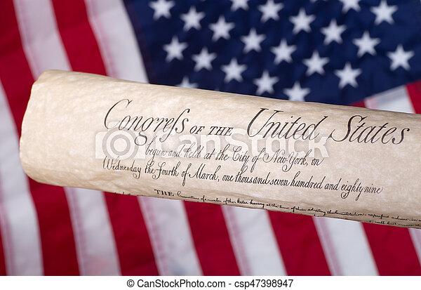 Bill of Rights - csp47398947