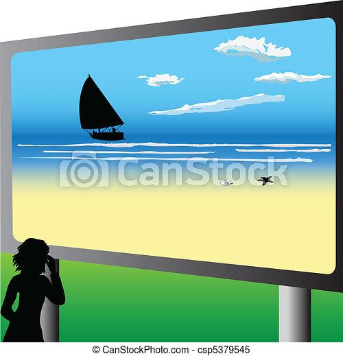 Billboard - csp5379545
