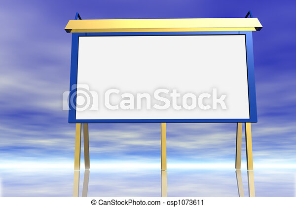 Billboard . - csp1073611