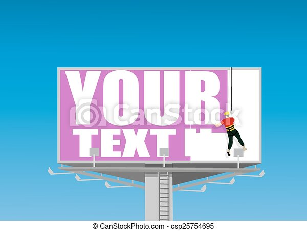 Billboard - csp25754695