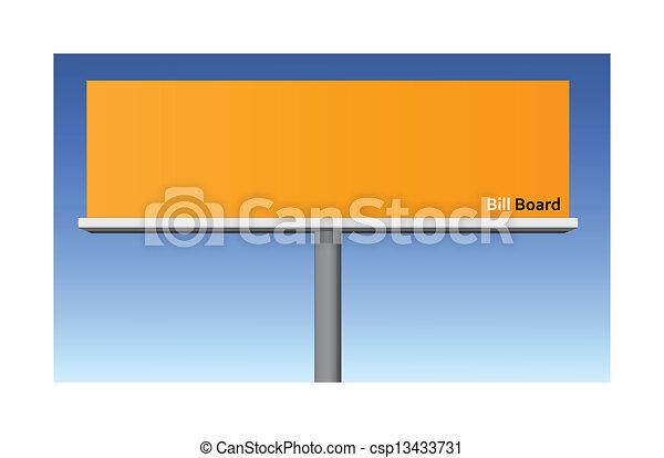 Billboard - csp13433731