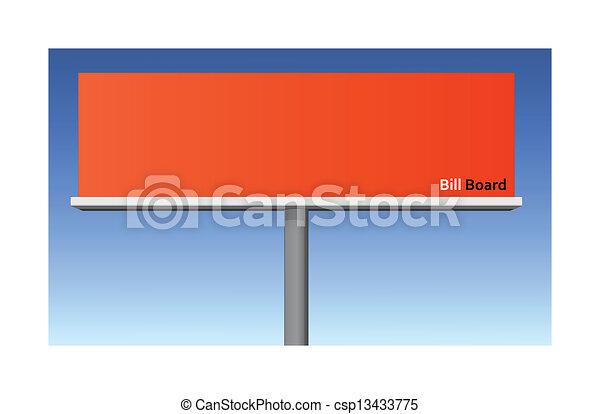 Billboard - csp13433775