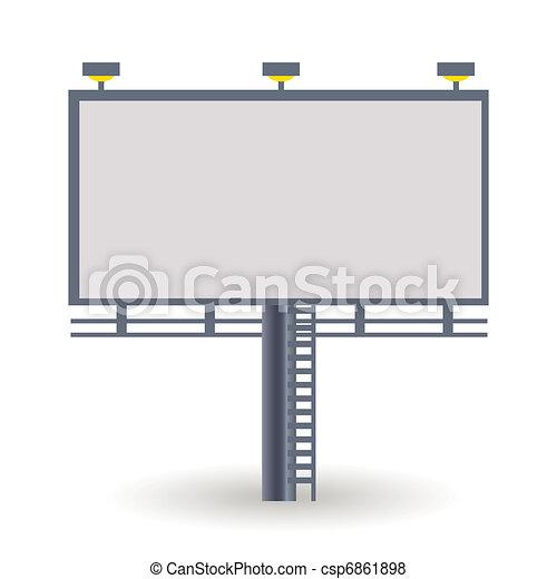 billboard - csp6861898