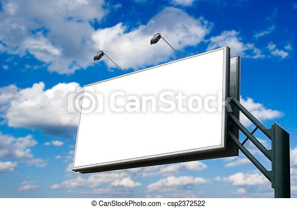 billboard  - csp2372522