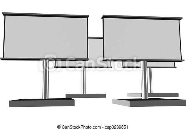 Billboards - csp0239851
