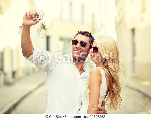 Online dating fotografier