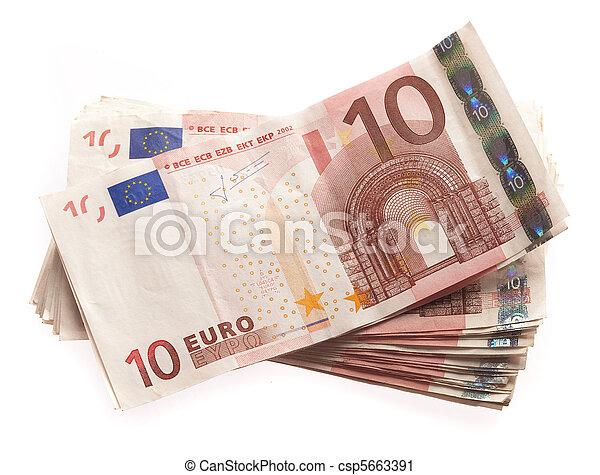 billets banque 10 euros 10 isol billets banque fond photographie de stock. Black Bedroom Furniture Sets. Home Design Ideas