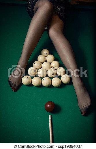Sexy women at a balll