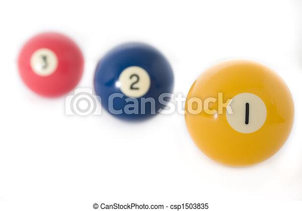 Billiard balls - csp1503835