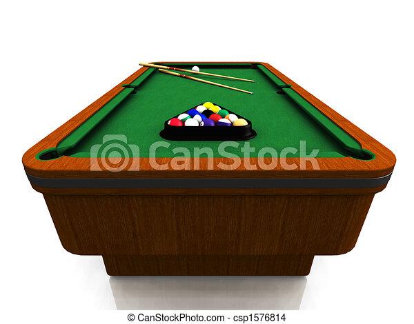 Billiard table - csp1576814