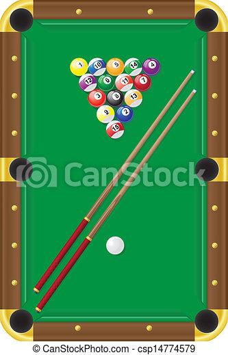 billiards - csp14774579