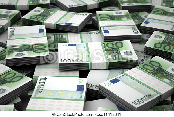 Billion Euros - csp11413841