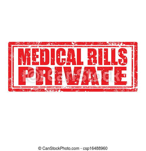 bills-, medisch, particulier - csp16488960