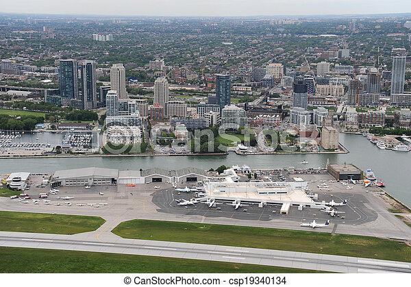 Billy Bishop Airport, Toronto, Ontario - csp19340134