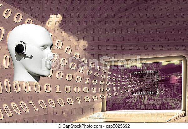 binärcode - csp5025692
