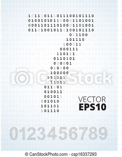 binäres alphabet