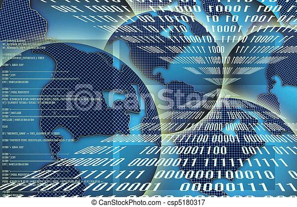 binärer, technologie - csp5180317
