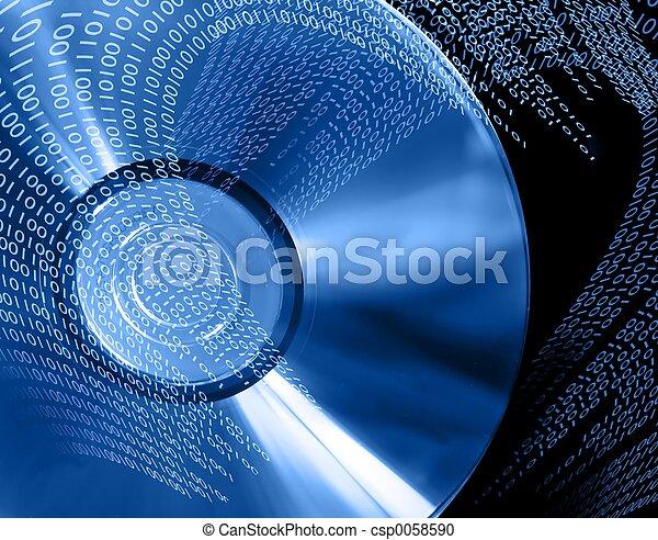 DVD binario - csp0058590