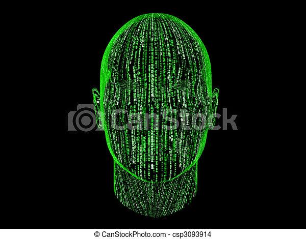 Binary Abstract - csp3093914