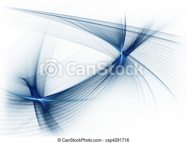 binary code data flow, binary stream, communication,  - csp4291716