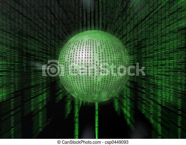 Binary code. - csp0449093
