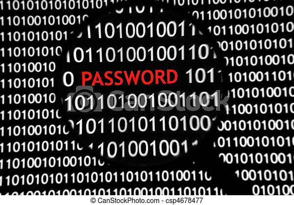 Binary Code Login - Password