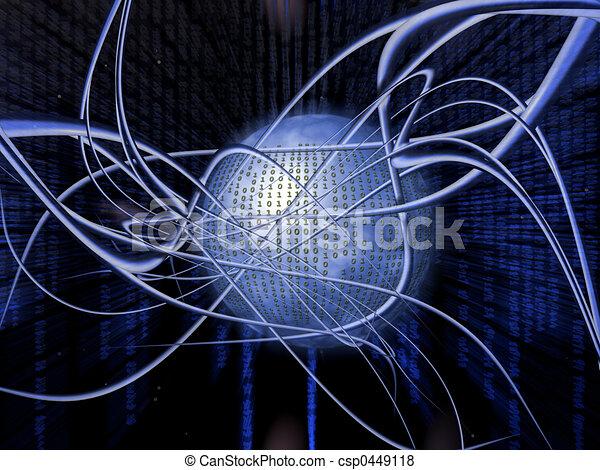 Binary code. - csp0449118