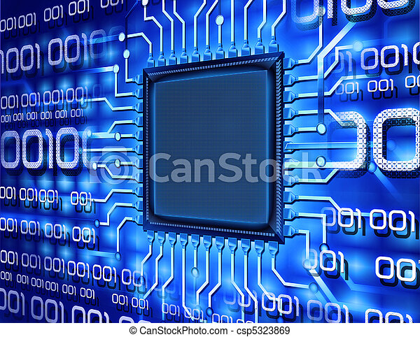 binary computer chip - csp5323869