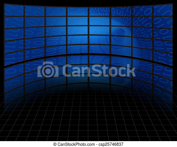 Binary Tunnel on Large Set of Screens - csp25746837