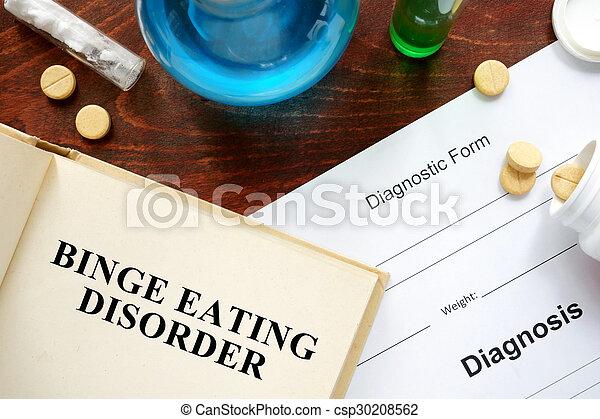 binge eating disorder - csp30208562