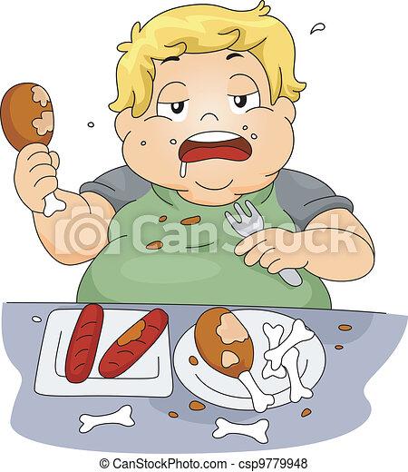Binge Eating - csp9779948
