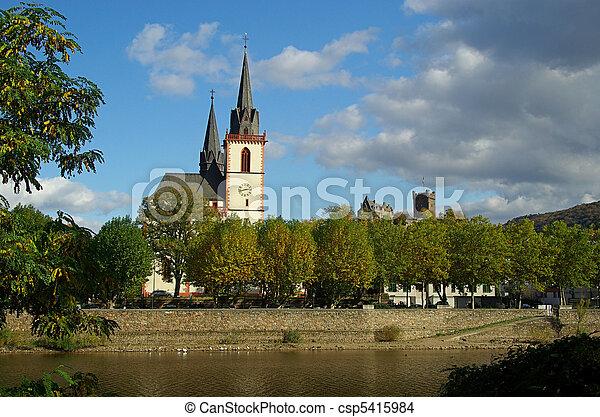 Bingen church 01 - csp5415984