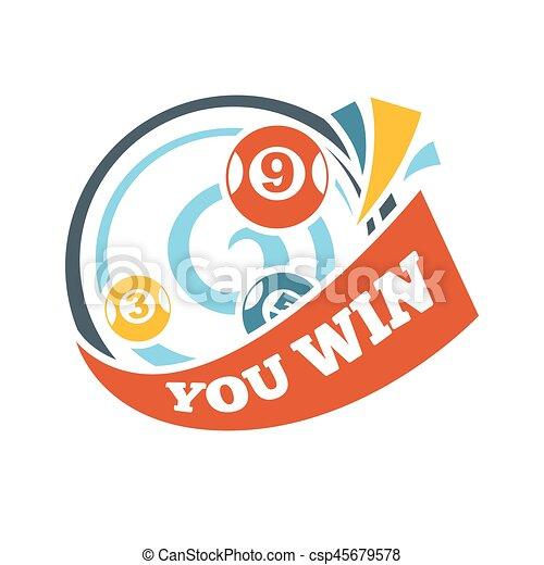 bingo lotto win lottery lucky numbers vector icon bingo vectors rh canstockphoto com bingo winner clipart bingo winner clipart