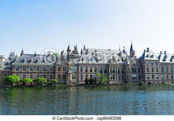 Binnenhof - Dutch Parliament, Holland - csp66493598