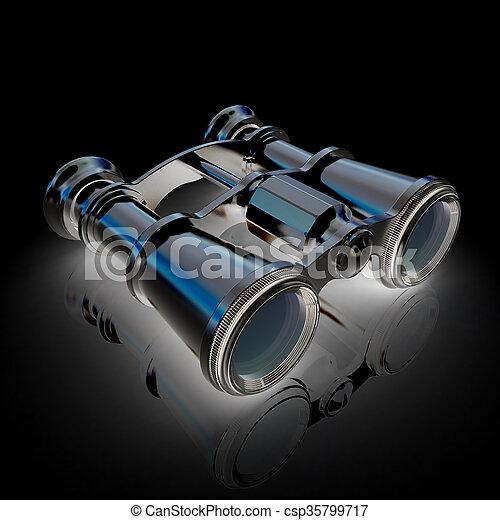 binoculars - csp35799717