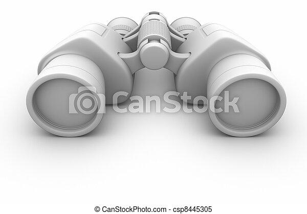 Binoculars. - csp8445305