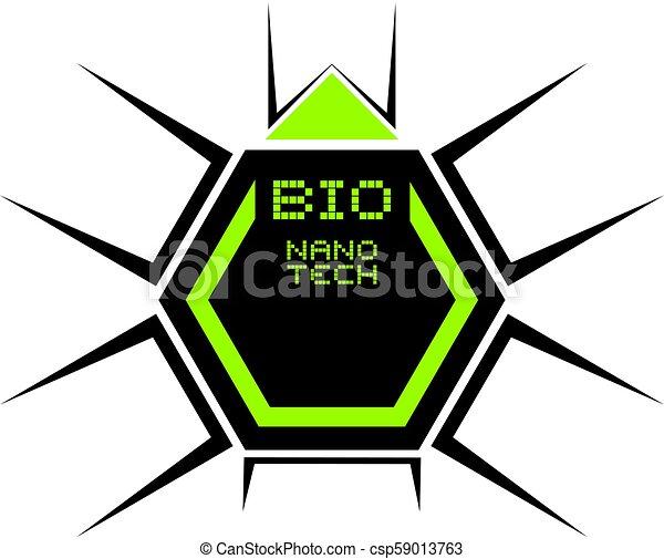 bio, シンボル, 技術, nano - csp59013763
