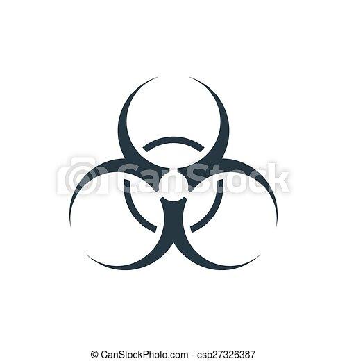 bio, 危険, アイコン - csp27326387