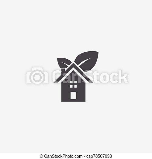 bio, 家, アイコン - csp78507033