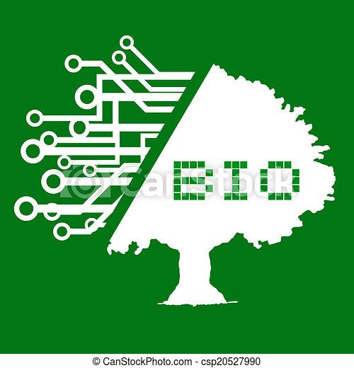 bio, 木 - csp20527990