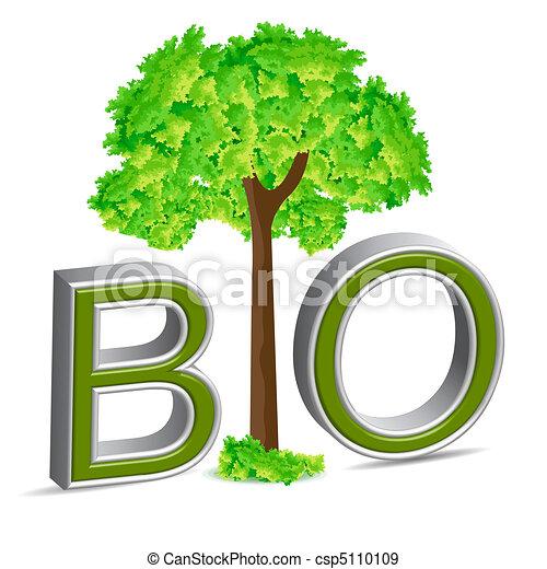 bio, 木 - csp5110109