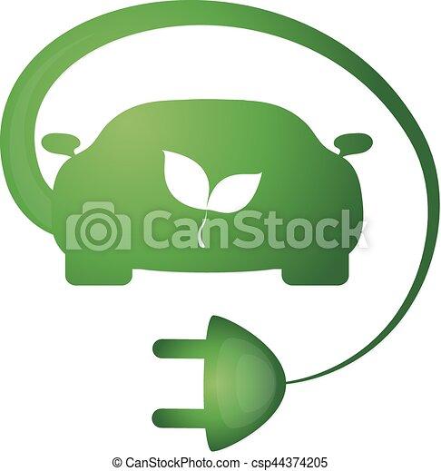 Bio car vector - csp44374205