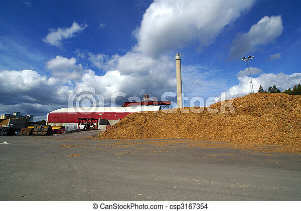 bio fuel power plant - csp3167354