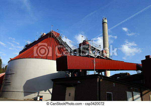 bio fuel power plant - csp3420072