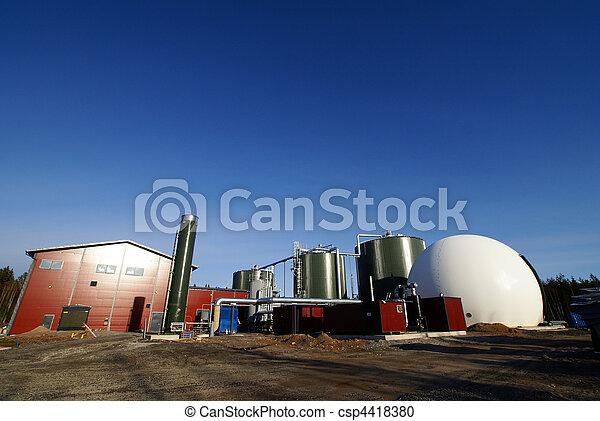 bio gas plant  - csp4418380