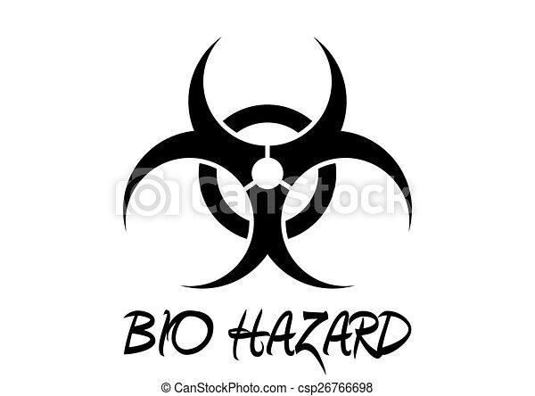 Bio Hazard Sign - csp26766698